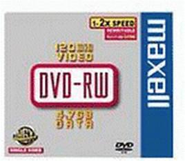 Maxell DVD+RW 4,7GB 120min 6x 5er Jewelcase