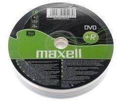 Maxell DVD + R 4.7GB 10–Pk–DVD + RW Rohlinge (Achse)