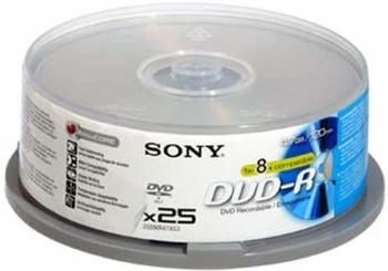 Sony DVD-R 4,7GB 120min 16x 25er Spindel