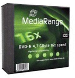 MediaRange DVD-R 4,7GB 120min 16x 5er Slimcase