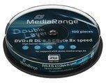 MediaRange 20 (2x 10) MediaRange Rohlinge Dvd+R DL 8,5Gb 8x