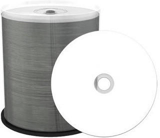 MediaRange 100 Professional Rohlinge DVD-R full printable Thermo proselect 4,7GB 16x Spindel