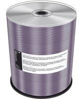 MediaRange 100 Professional Rohlinge DVD-R full printable silver proselect 4,7GB 16x Spindel