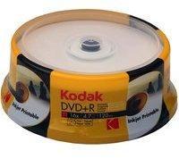Kodak 100 Kodak Rohlinge DVD+R full printable 4,7GB 16x Spindel