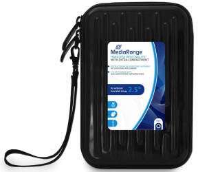 MediaRange BOX995 Festplatten-Tasche schwarz