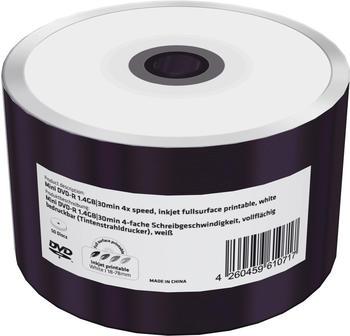 MediaRange 50 Mediarange Rohlinge DVD-R Mini full printable 30Min 1,4GB 4x Shrink