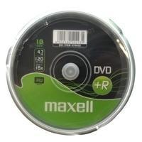 Maxell DVD+R 4,7GB 120min 16x 10er Spindel