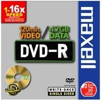 Maxell DVD+R 4,7GB 16x 1er Jewelcase