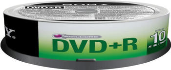 Sony 10DPR47SP - 10 x DVD+R - 4,7GB (120 Min.) 16x - Spindel (10DPR47SP)