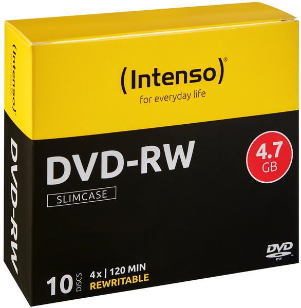 Intenso DVD+RW 4,7GB 4x 10er Spindel