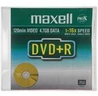 Maxell DVD+R 4,7GB 16x 5er Jewelcase
