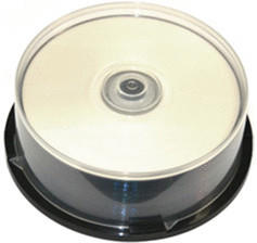 MediaRange DVD-R 4,7GB 120min 8x Silver bedruckbar 25er Spindel