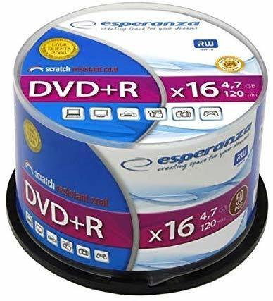 Esperanza 1115 DVD-Rohling 4,7 GB DVD+R 50 Stück(e)