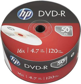 HP DVD-R 4,7GB 120min 16x 50er Spindel