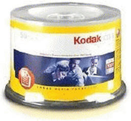 Kodak CD-R 700MB Picture CD Global 50er Spindel