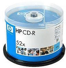 HP CD-R 700MB 80min 52x 50er Spindel