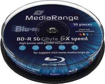 mediarange-bd-r-50gb-270min-dl-6x-bedruckbar-10er-spindel