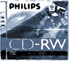 Philips CD-RW 700MB 80min 12x 10er Jewelcase