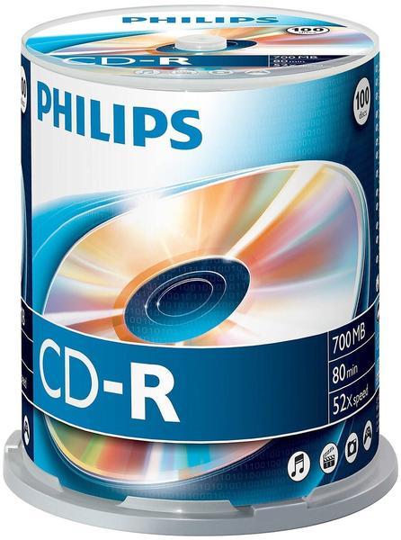 Philips CD-R 700MB 80min 52x 50er Spindel