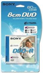 Sony DVD-R Mini 2,8GB 60min doppelseitig 1er Jewelcase