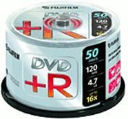Fuji Magnetics DVD+R 4,7GB 120min 16x 50er Spindel
