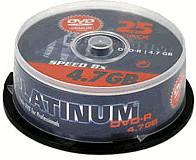 PLATINUM Dvd+r 4.7GB