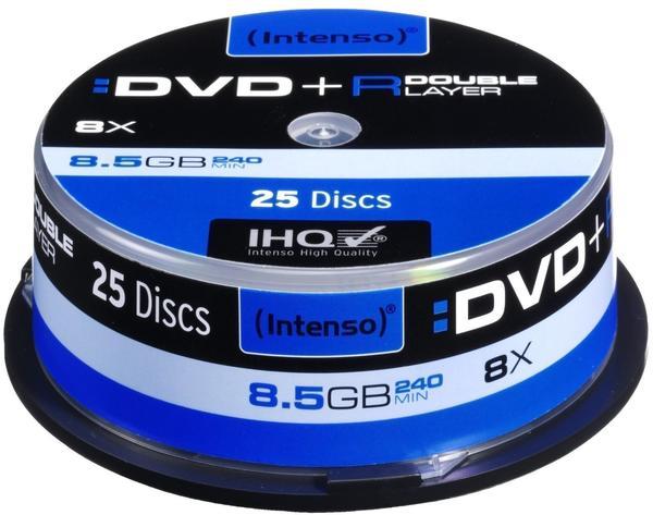 Intenso DVD+R DL 8,5GB 8x 25er Spindel