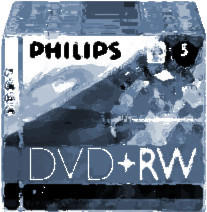 Philips DVD+RW 4,7GB 120min 4x 5er Jewelcase