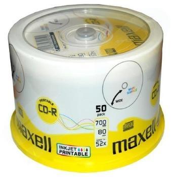 Maxell CD-R 700MB 80min 52x bedruckbar 50er Spindel