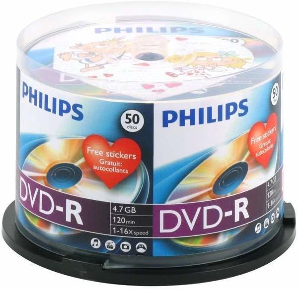Philips DVD-R 4.7 GB (50 Stück)
