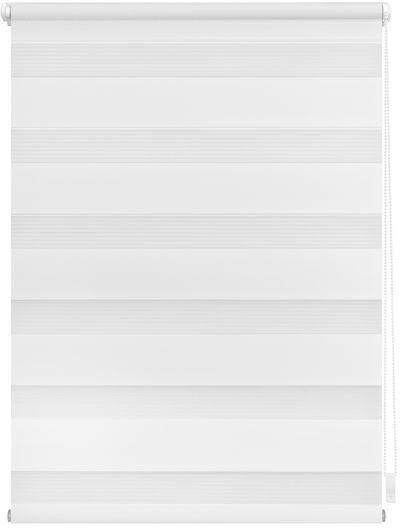 Lichtblick Klemm-Doppelrollo ohne Bohren 75x150cm weiß