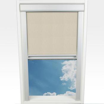 Liedeco Dachfensterrollo Verdunkelung 38,5x54cm beige