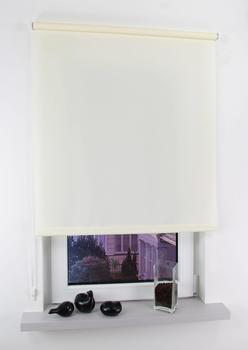 Liedeco Seitenzugrollo Easy Lichtschutz 122x180cm beige