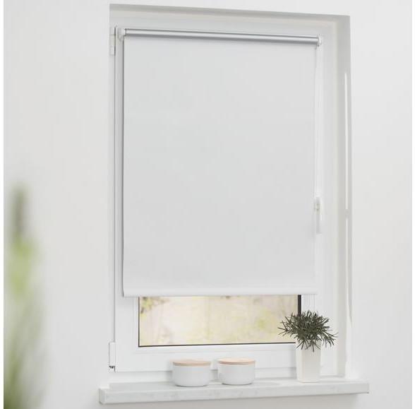 Lichtblick Verdunkelungsrollo Thermo Haftfix 45x150cm weiß