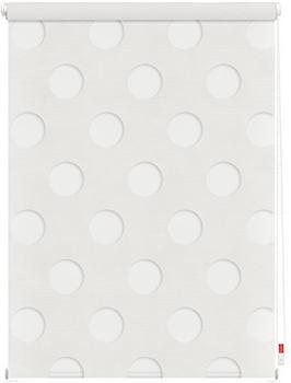 Lichtblick Duo-Rollo Kreis 60x150cm weiß