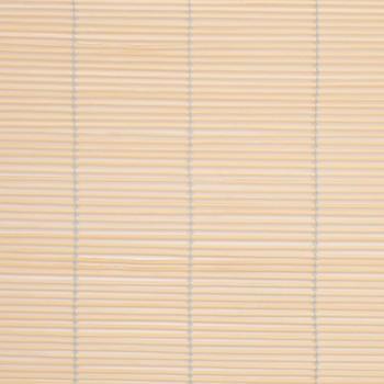 Liedeco Bambusrollo mit Seitenzug 90x240cm natur
