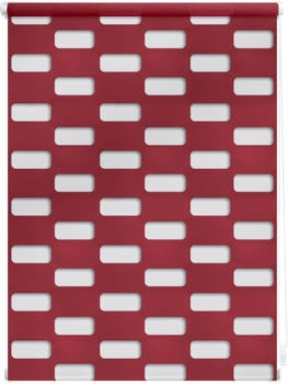Lichtblick Duo Rollo Arena Klemmfix 90 x 150 cm rot