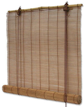 Interdeco Bambusrollo 90x220cm braun