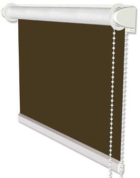 Interdeco Klemmfix Verdunkelungsrollo / Thermorollo 98,5x175cm braun