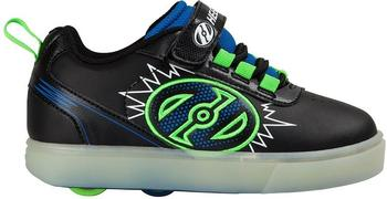 Heelys X2 Pow Lighted black/blue/green