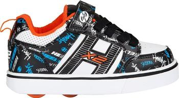 Heelys Bolt Plus X2 black/white/orange/cyan