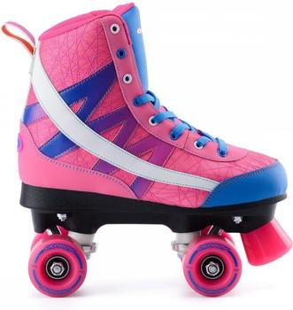 Osprey Chevron High Top Roller Skate Fly Knit pink