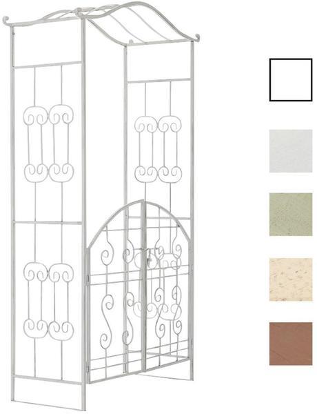CLP Astia mit Tor 220 x 110 x 50 cm antik weiß