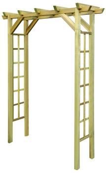 VidaXL Holz-Pergola 200 x 150 x 50 cm