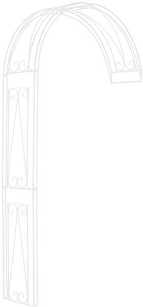 CLP Riccardo 160 x 40 x 258 cm weiß