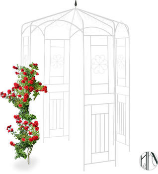 Relaxdays Metal Pavilion for Roses (10026257)
