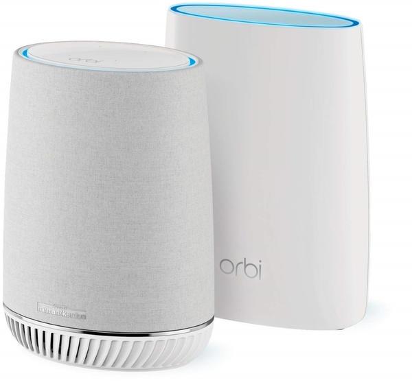 Netgear Orbi Voice AC3000 Mesh Tri-band WiFi System Set