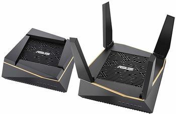 Asus AiMesh AX6100 WLAN-Router Tri-Band (2,4 GHz5 GHz5 GHz) Gigabit Ethernet Schwarz