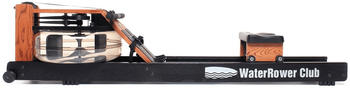 Water Rower WaterRower Rudergerät Club-Sport, inkl. S4 Monitor, Herzfrequenzempfänger und Brustgurt Polar T31