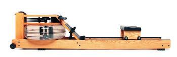 Water Rower WaterRower Rudergerät Esche, inkl. S4 Monitor, Herzfrequenzempfänger und Brustgurt T31